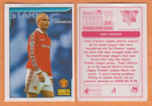 Manchester United Wes Brown England U36
